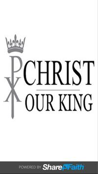 Christ Our King Anglican poster