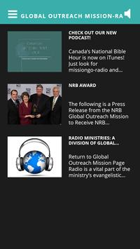 Global Outreach Mission-Radio poster