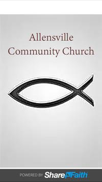 Allensville Community Church poster