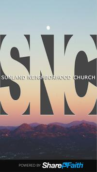 Sunland Neighborhood Church poster