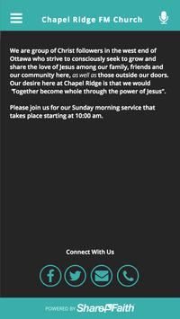 Chapel Ridge FM Church apk screenshot