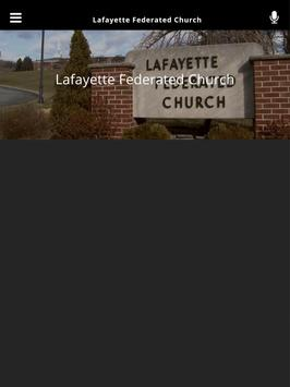 Lafayette Federated Church apk screenshot
