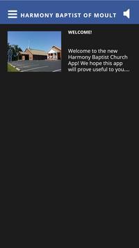 Harmony Baptist of Moulton, AL apk screenshot