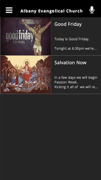 Albany Evangelical Church apk screenshot