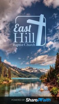 East Hill Baptist Church poster