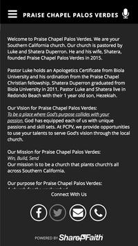 PRAISE CHAPEL PALOS VERDES screenshot 3