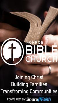 Monroe Bible Church poster