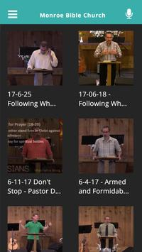 Monroe Bible Church apk screenshot
