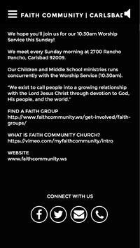 Faith Community | Carlsbad, CA apk screenshot