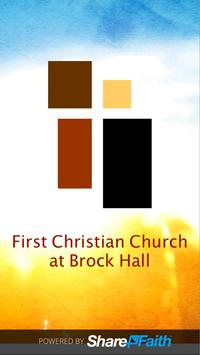 FCC at Brock Hall poster