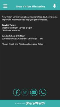 New Vision Ministries screenshot 1