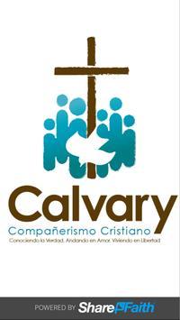 Calvary Compañerismo Cristiano poster