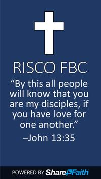 Risco First Baptist Church poster