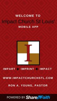 Impact Church STL poster
