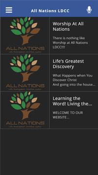All Nations LDCC poster