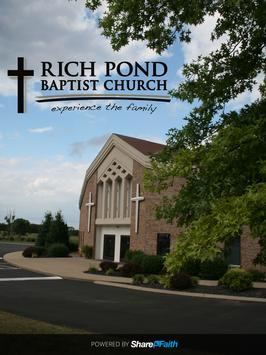 Rich Pond Baptist Church apk screenshot