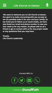 Life Church at Easton poster