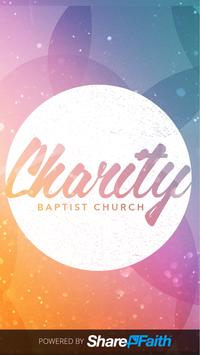 Charity Church App poster