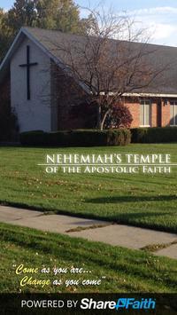 Nehemiah's Temple Church poster