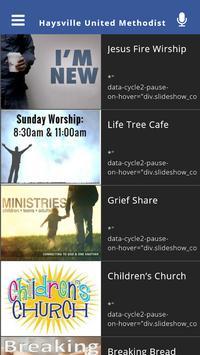 Haysville United Methodist poster