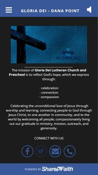 Gloria Dei - Dana Point poster