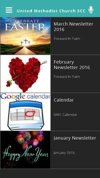 United Methodist Church SCC apk screenshot
