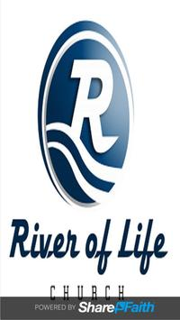 River of Life Church Starke poster