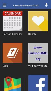 Carlson Memorial UMC poster
