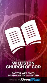 Williston Church of God poster