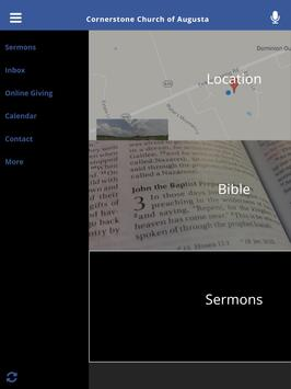Cornerstone Church of Augusta apk screenshot