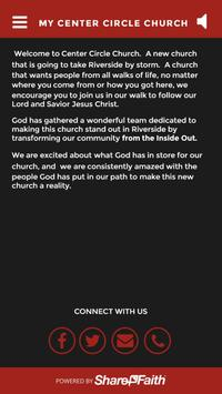 My Center Circle Church poster