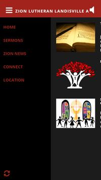 Zion Lutheran Landisville App apk screenshot