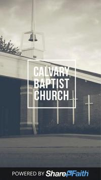 Calvary Baptist Church Normal poster