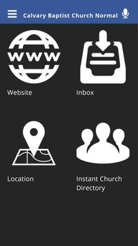 Calvary Baptist Church Normal apk screenshot