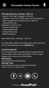 Thornydale Family Church screenshot 2