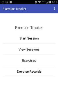 Exercise Tracker poster