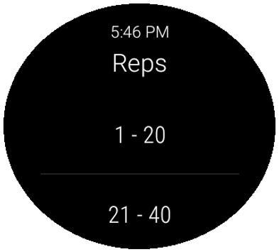 Exercise Tracker apk screenshot