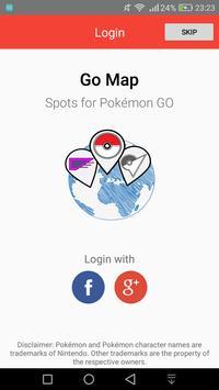 GO Nest Map - For Pokémon GO! poster