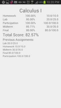 MyGrade Tracker screenshot 4