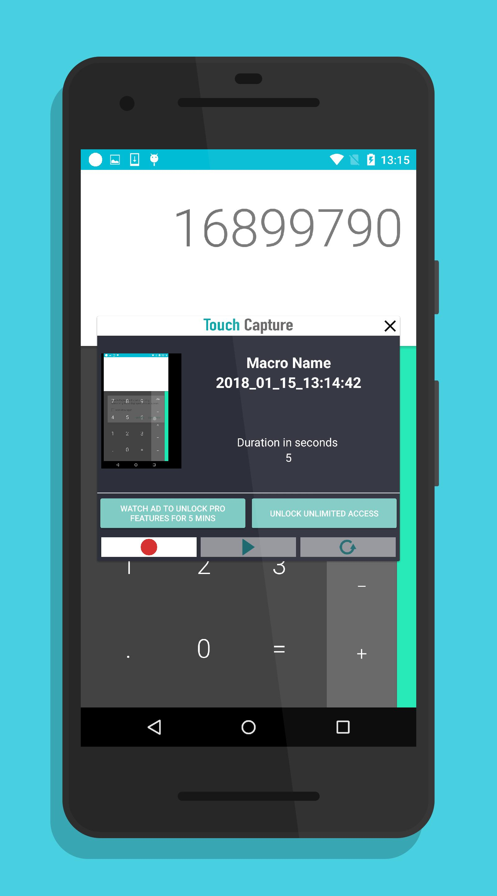 Touch Capture - A Macro recorder  for Android - APK Download