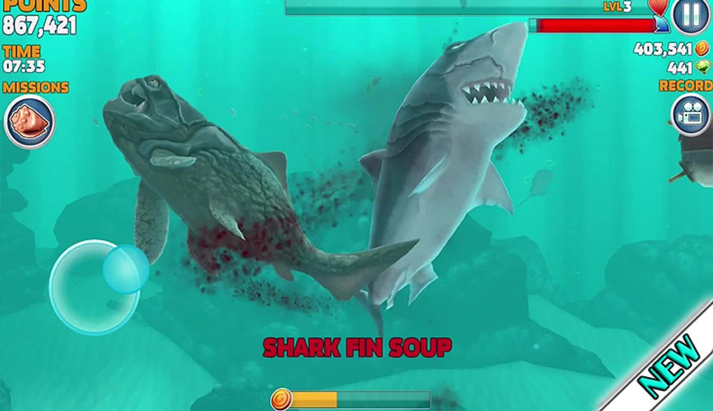 hungry shark evolution apk new version