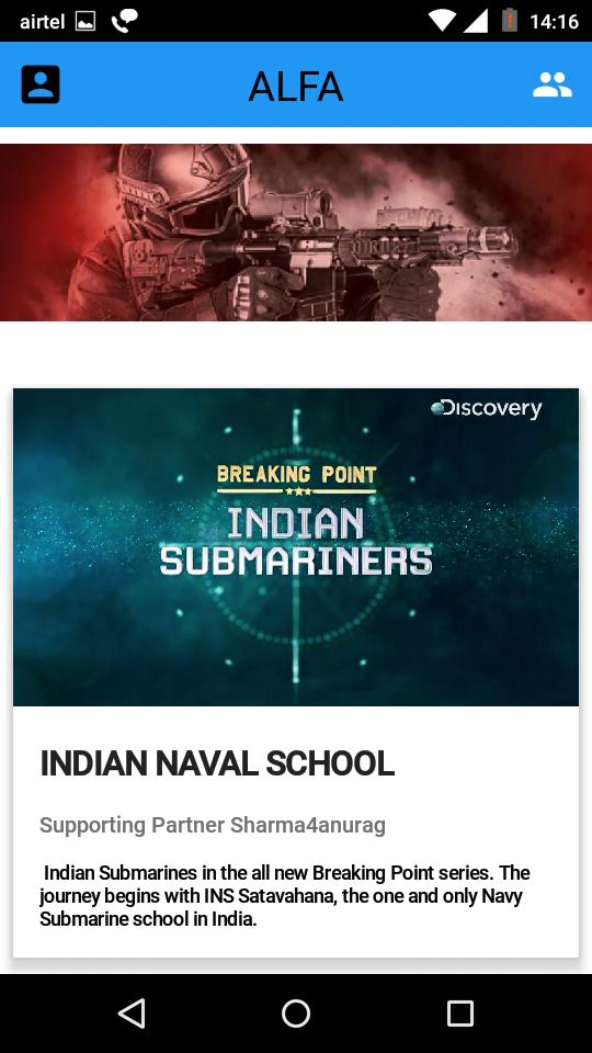 VEER : Indian Air force & NDA By Discovery Channel for Android - APK
