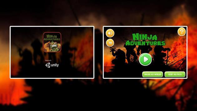 Ninja & Turtles Adventures screenshot 2