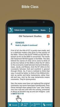 Torah class Test poster