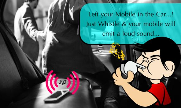 Whistle To Find Phone apk screenshot