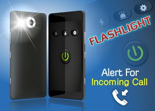 Flashlight Alert on Call (SMS) apk screenshot