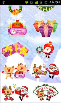 Christmas StickerWidget Second apk screenshot