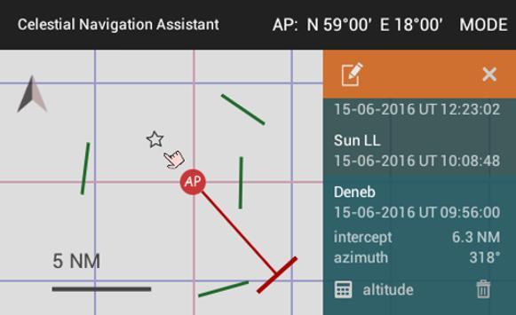 Celestial Navigation Assistant poster