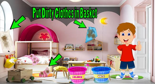 Kids Laundry Wash Cleaning Games 2018 screenshot 1