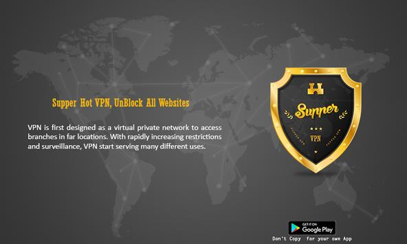 Super VPN Free-Super Fast VPN Proxy Unblock Master poster
